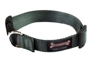 Smoochy Poochy Nylon Collar - Charcoal