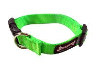 Smoochy Poochy  Nylon Collar Reflective  - Apple
