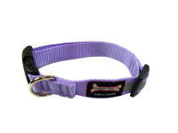 Smoochy Poochy  Nylon Collar Reflective  - Lavender
