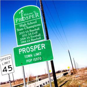 Prosper Town Limits // DTX291