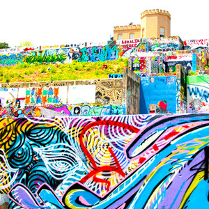 Graffiti Castle // ATX042