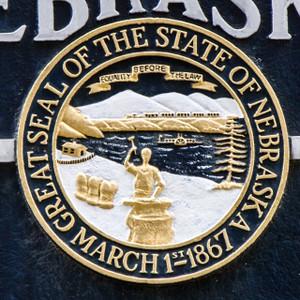 Nebraska State Seal // NE023