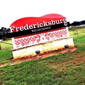 Fredricksburg Road Sign // SA104