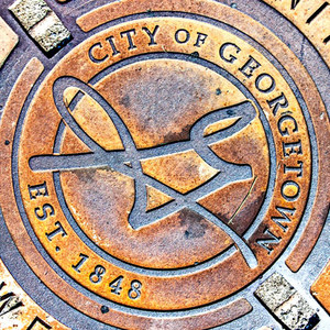 Georgetown Manhole // ATX172