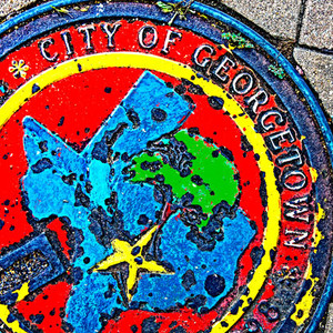 Georgetown Color Manhole // ATX176