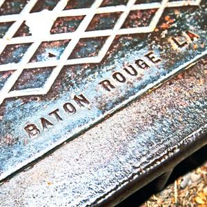 Baton Rouge Manhole // LA008