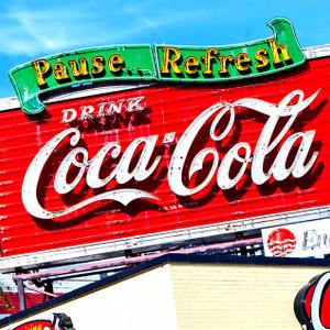 Coke Sign // LA017