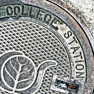College Station Manhole // HTX133