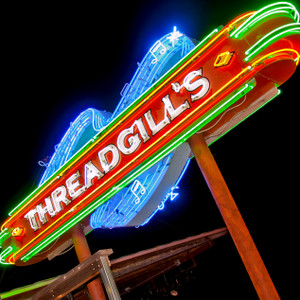 Threadgill's - coaster