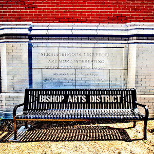Bishop Arts Bench // DTX008