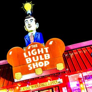 Lightbulb Shop - coaster