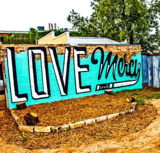 Love Mercy - coaster