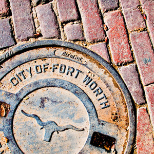 Fort Worth Manhole // FTX317