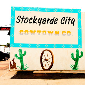 Stockyards Mural // OK081