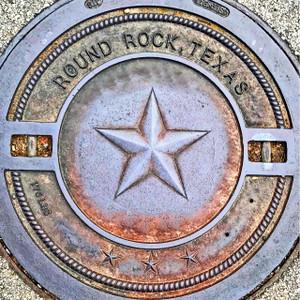 Round Rock Manhole // ATX209