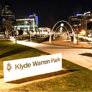 Klyde Warren Park Night // DTX132