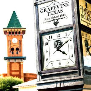 Grapevine Clock // DTX155