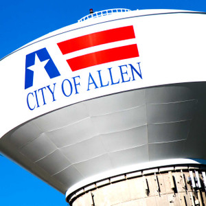 Allen Water Tower // DTX217