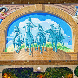 Cowgirls Mural // FTX338