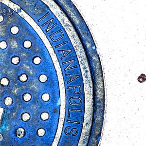 Indianapolis Manhole // IND017