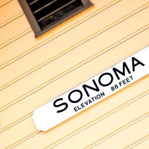 Sonoma Sign // CA192