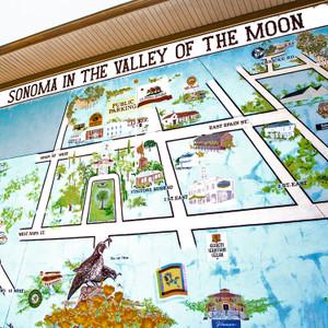 Sonoma Map // CA201