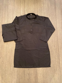 Boys black shalwar kurta