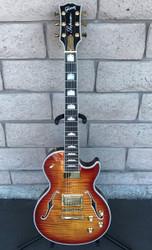 Gibson Les Paul Supreme 2015 - Heritage Cherry Sunburst Perimeter AAAA w/ Hard Shell Case