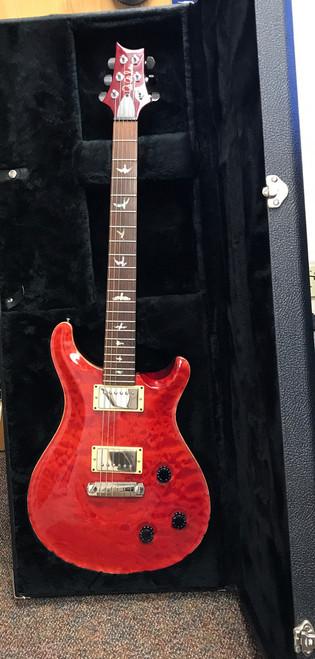 PRS Custom 22 w/OHSC , Ruby Red