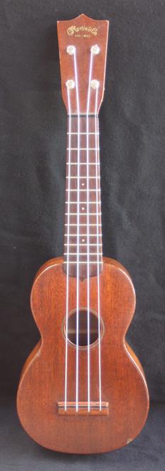 Martin Style O Soprano Ukulele 1960's front full