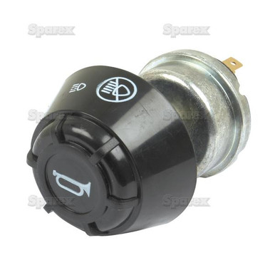 Light/Horn Switch for Massey-Ferguson Tractor - front