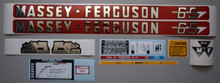 Massey-Ferguson 65 Tractor Complete Decal Set