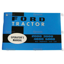 Ford 2000 3000 4000 5000 '65-68 Tractor Operator's Manual