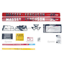 Massey-Ferguson 35 Tractor Complete Decal Set