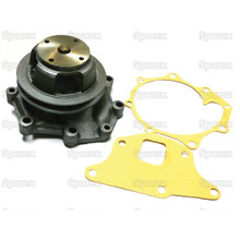 Ford tractor water pump 3 & 4 cylinder 1965 & up w/ single pulley
