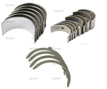 3 cyl Perkins 3.144 & 3.152 Engine Complete Bearing Kit