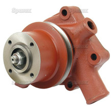 Landini 4 cyl Tractor Water Pump Perkins 4.192 & 4.203 - front