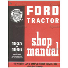 Factory/OEM Shop Service Manual Ford '55-64 Tractor
