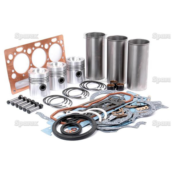 Rebuild Kit for Perkins AD3 152 4-Ring Engine Massey-Ferguson Tractor MF  235 245 250 154