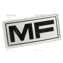 MF Tractor Front Grille Emblem