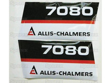 Allis-Chalmers AC 7080 Tractor Decal Kit