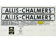 Allis-Chalmers AC D10 Tractor Decal Kit