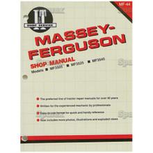 I&T Shop Manual MF-44 for Massey-Ferguson 3505 3525 3545 Tractor