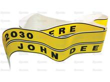 John Deere 2030 Tractor Hood Decals