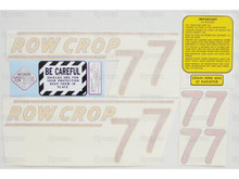 Oliver 77 Row Crop Tractor Complete Decal Kit