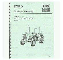 Ford 2600 3600 4100 4600 Tractor Operator's Manual