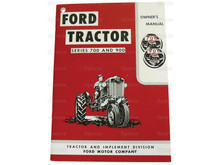 Ford 700/900 Tractor Owner's Manual