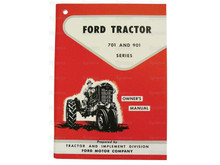 Ford 701/901 Tractor Owner's Manual