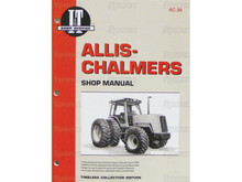 I&T Shop Manual AC-36 for Allis-Chalmers 8010 8030 8050 8070 Tractor - Front