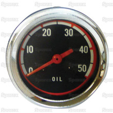 50# Oil Pressure Gauge for Minneapolis-Moline Tractors